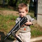 Детский фотограф всегда должен держать камеру наготове, чтобы не пропустить интересный кадр
