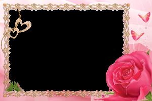 Рамочки для фото. Я люблю тебя. Эта нежная роза меркнет по сравнению с тобой.