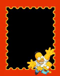 Просто нет слов какой клевый, добродушный и отличный чувак Гомер Симпсон. Он не блещет умом, то доброта от него исходит просто огромная. Веселый и беззаботный классный парень Барт станет другом высшей пробы, расположившись рядом с вами на фотографии. Детская рамка для фотошопа с героями мультика Симпосны отличное хиповое оформление для фото.