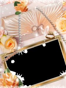 Свадебная фоторамка. Фоторамки для фото. Рамки онлайн бесплатно 162