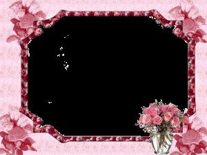 Цветочная рамка 176
