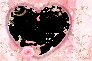 Очень нежная рамка сердечко для любимой. Ее улыбка в таком декоре будет еще более соблазнительной и заигрывающей.
