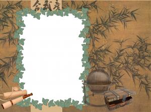 Рамка фотошоп для искателей приключений и сокровищ. У вас есть снимок в загадочной пещере? Это для него!