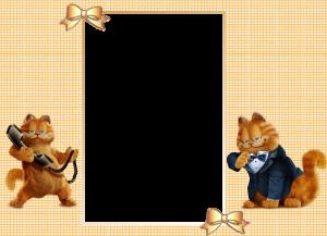 Если у вас есть дома рыжий кот, то эта рамка для него! Хотя если нет, то вы можете с ним подружиться, вставив свое фото в эту рамочку.