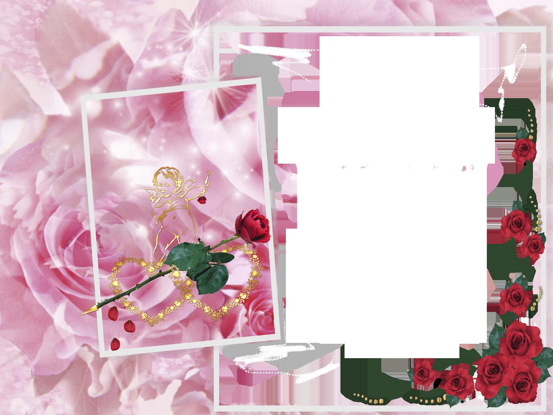 Фото сердечки с цветами