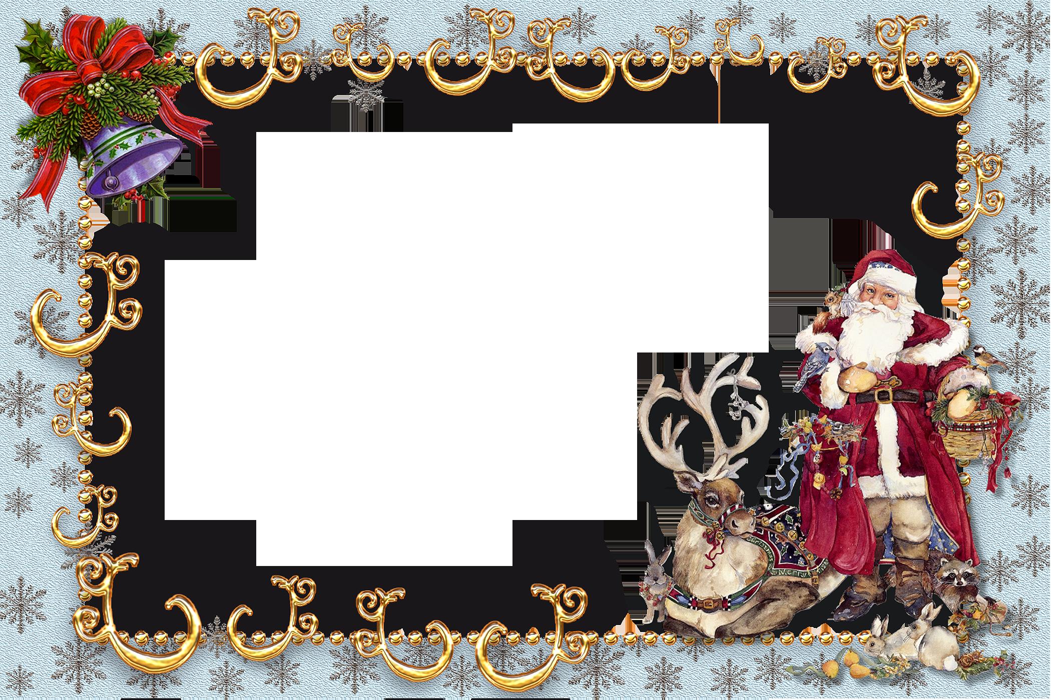Картинки рамки с новым годом