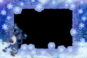 Фоторамки без регистрации. Рамочки. Снежный волшебник кружится с вьюгой в белом танце. С неба падают снежинки, а воздух наполнен сказкой.