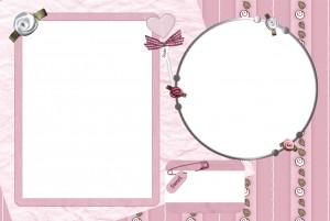 Фоторамка. Поместите слева фотографию любимой, а справа романтические стихи. Она никогда не забудет столь милого подарка!