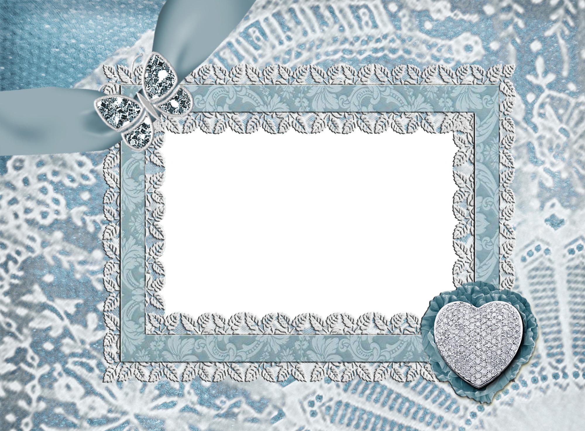 Рамка кружево фотошоп