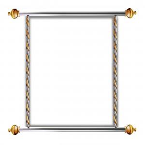 Бесплатная рамка зеркало. Фоторамка похожа на лёгкое зеркало из старинного замка.