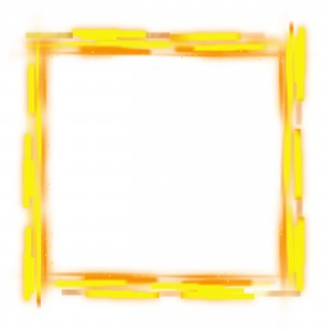 Бесплатная квадратная рамка. Расписная деревянная основа для вашей фотографии.