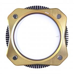 Странный механизм, очень напоминающий часовой состоит из двух шестерёнок.