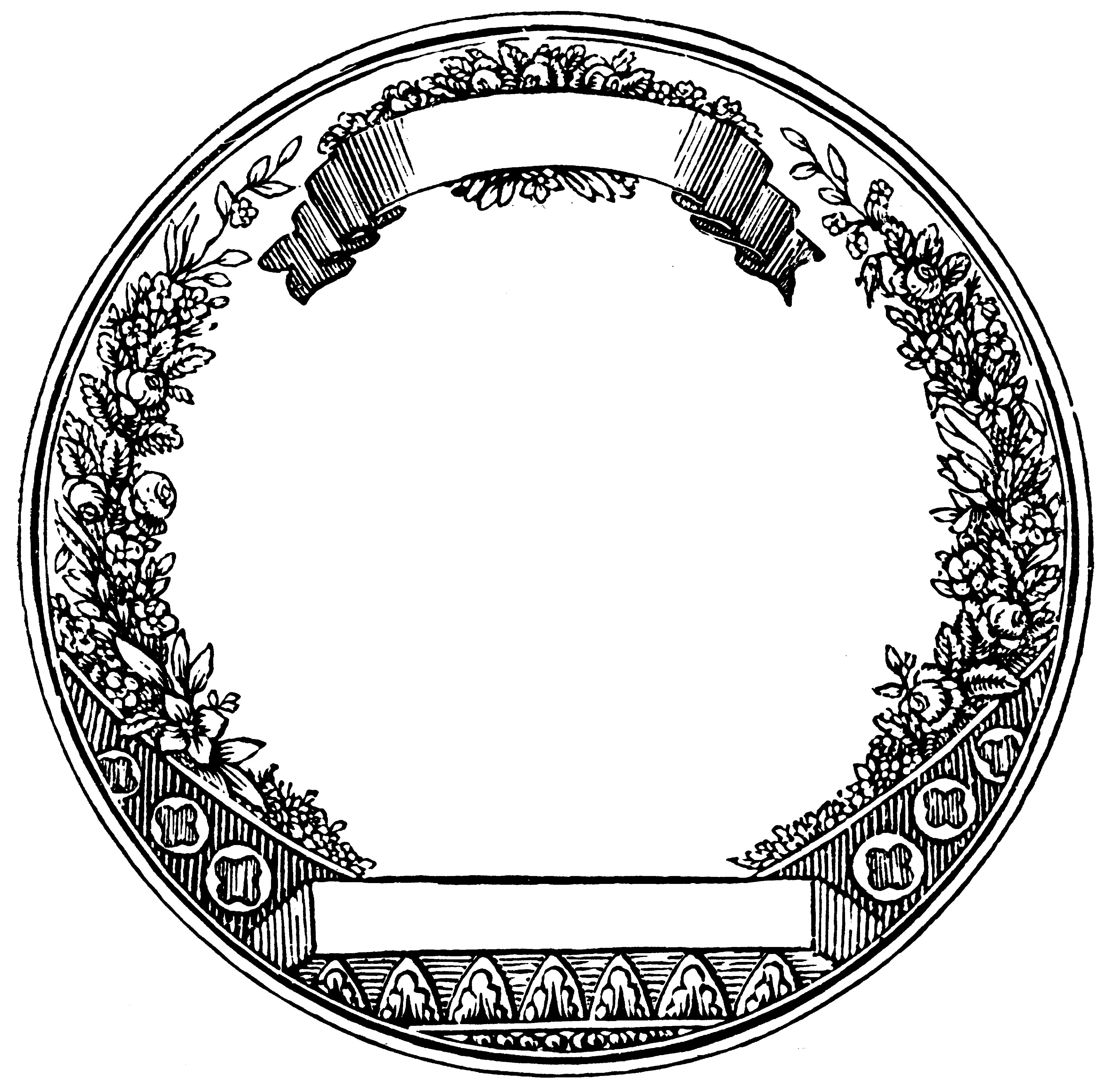 Круглые картинки для эмблемы