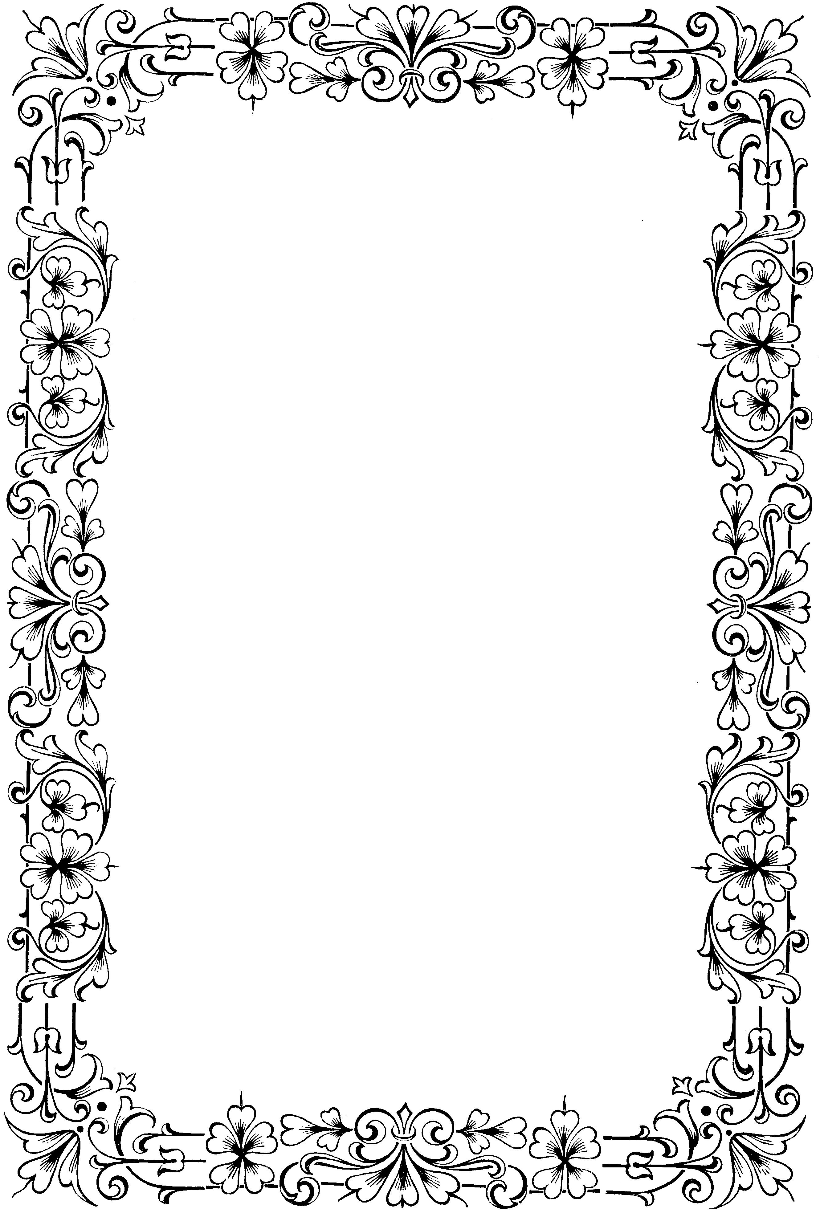 Узоры Белые Для Оформления Текста Word Бесплатно