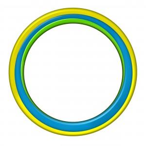 Круглая фоторамочка для фотошопа