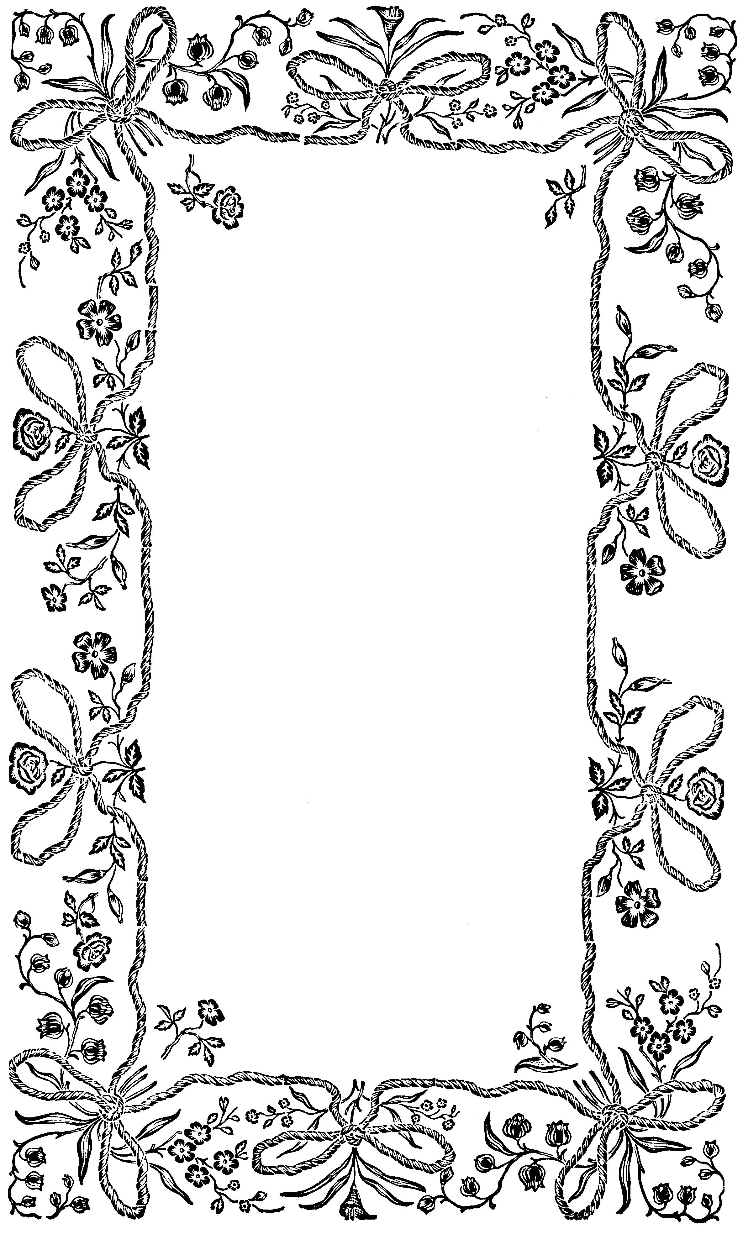 Картинки, рамки для открытки рисунки