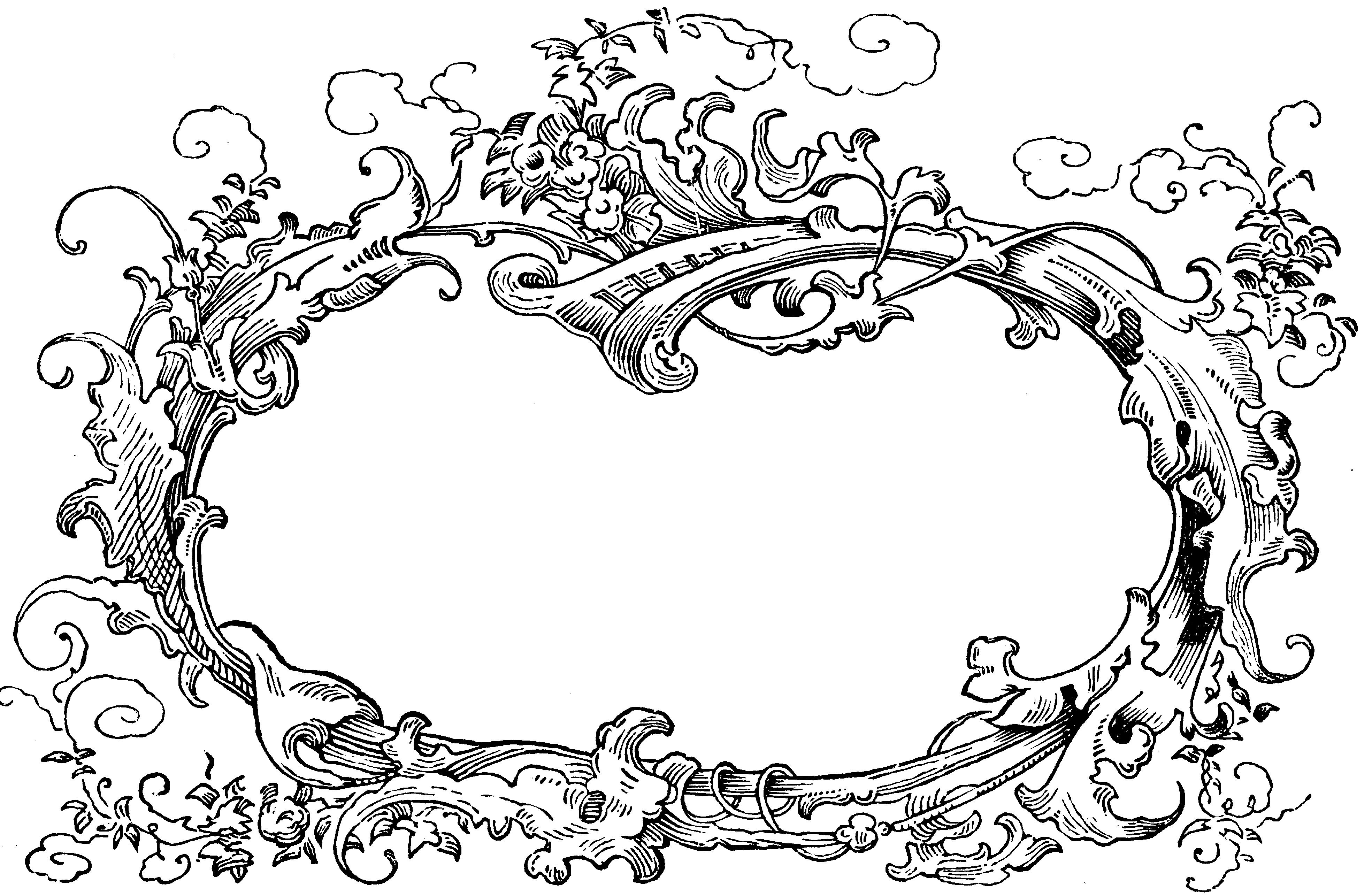 Рамка для рисунка