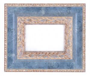 Фоторамка голубой мрамор