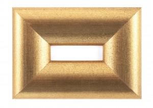 Рамка золотые слитки