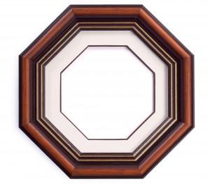 Фоторамка восьмиугольник