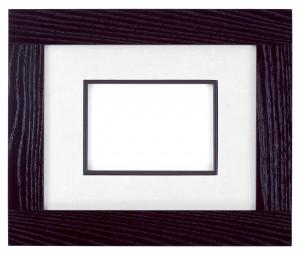 Рамка для фото с белым паспарту