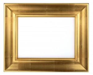 Фоторамка массивное золото