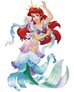 Клипарт морская принцесса