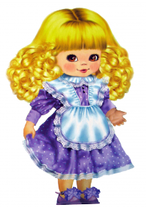 Клипарт маленькая девочка