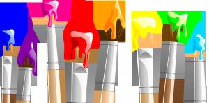 Разноцветные кисточки украсят ваши рамки и другие работы.