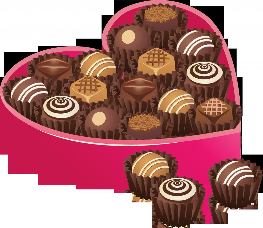 Шоколадная конфета картинка для детей