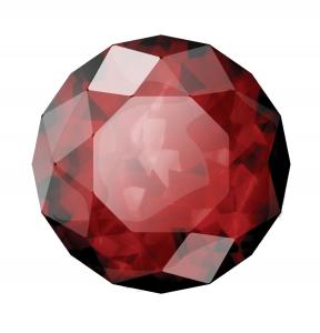 В Древней Индии рубин считали царем драгоценных камней.
