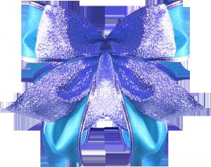голубой бантик