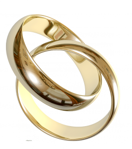 клипарт на прозрачном фоне свадебные кольца
