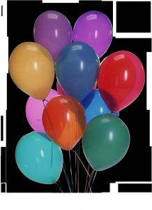 Нарядные воздушные шарики любят и дети, и взрослые.