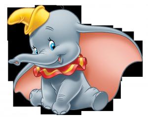 Клипарт слонёнок Дамбо