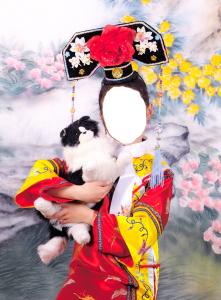 Детские шаблоны для фотошопа - 2. Китайская красавица