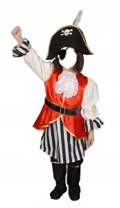 Детские шаблоны для фотошопа - 5. Пират