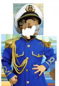 Детские шаблоны для фотошопа - 58. Капитан дальнего плавания