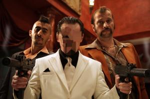 Мужские шаблоны и костюмы для фотошопа - 105. Главарь беспощадных гангстеров не остановится ни перед чем.