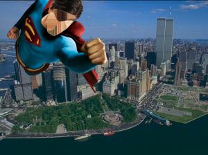 Мужские шаблоны и костюмы для фотошопа - 11. Супермен всегда прилетит на помощь обиженным и оскорбленным.