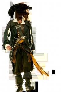 Мужские шаблоны и костюмы для фотошопа - 190. Чудесное превращение в пирата Карибского моря произойдет с помощью несложных действий в фотошопе.
