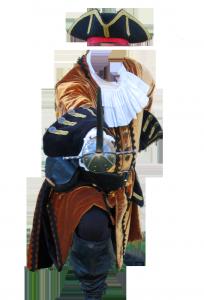 Мужские шаблоны и костюмы для фотошопа - 191. Защищайтесь, сударь, или я проткну вас шпагой!