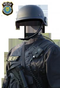 Мужские шаблоны и костюмы для фотошопа - 192. Неподкупный шериф, блюститель закона.