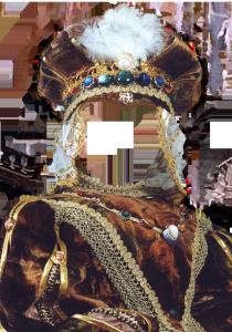 Мужские шаблоны и костюмы для фотошопа - 23. Одеяние знатного испанского вельможи очаровывает изысканностью.