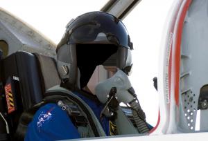 Мужские шаблоны и костюмы для фотошопа - 247. Астронавт NASA покоряет земные небеса.