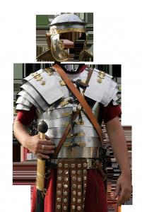 Мужские шаблоны и костюмы для фотошопа - 326. Спартанец готов погибнуть или победить.