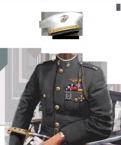 Мужские шаблоны и костюмы для фотошопа - 60. Офицерская выправка во все времена привлекала внимание прекрасной половины человечества.