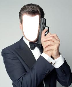 Мужские шаблоны и костюмы для фотошопа - 9. Знаменитый Джеймс Бонд, агент 007, покорил смелостью и отвагой множество женских сердец.