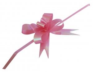 розовый бантик