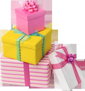 клипарт подарки